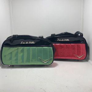 2 lux de ville bags/purse